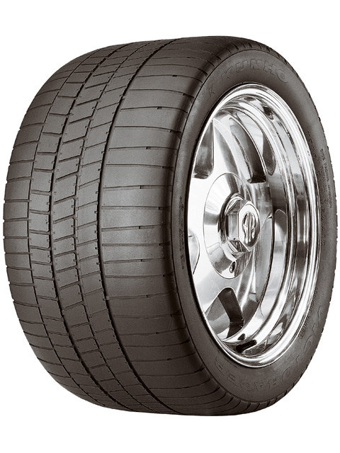 The Kumho Victoracer V700 DOT-approved competition tire came out in 1993 and quickly became the darling of club racers everywhere for its impressive race tire grip and affordable price. It's still sold today, but is now complimented by the newer Ecsta V700 and Ecsta V710.