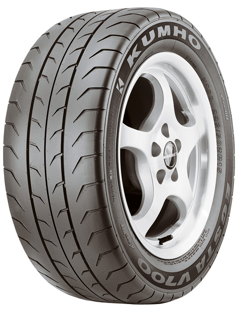 The Kumho MX is a serious low-cost contender for the Goodyear F1 Supercar tire, the BF Goodrich g-Force T/A KD and the Michelin Pilot Sport--which cost nearly twice as much as the MX. This is a max-effort street tire that has 80-85 percent of the grip of a competition DOT-approved tire and is made in all the serious sizes required by g-Machine musclecars.