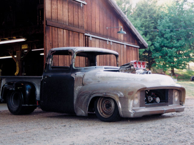 We almost like the truck better in nasty bare metal and steelies.