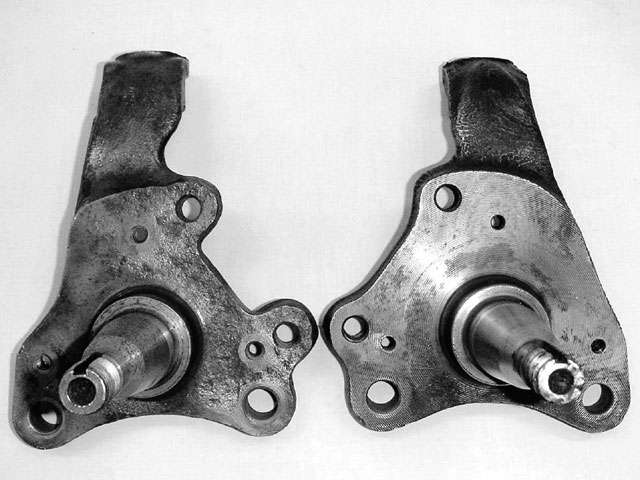 Above, the B spindle is on the left.