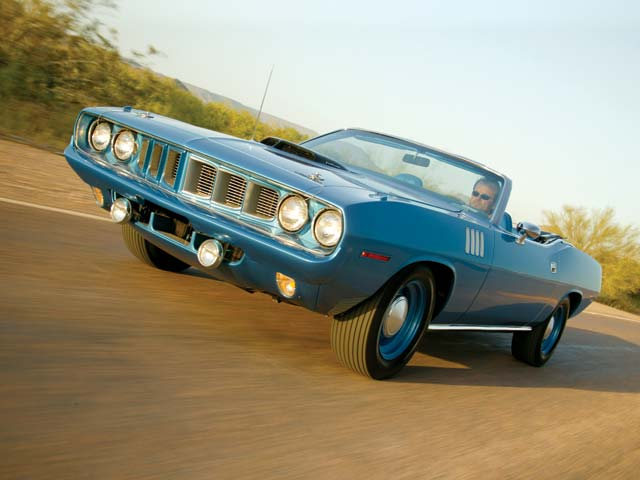 This is the '71 'Cuda that actually holds the record selling price for musclecars at $3,000,000.