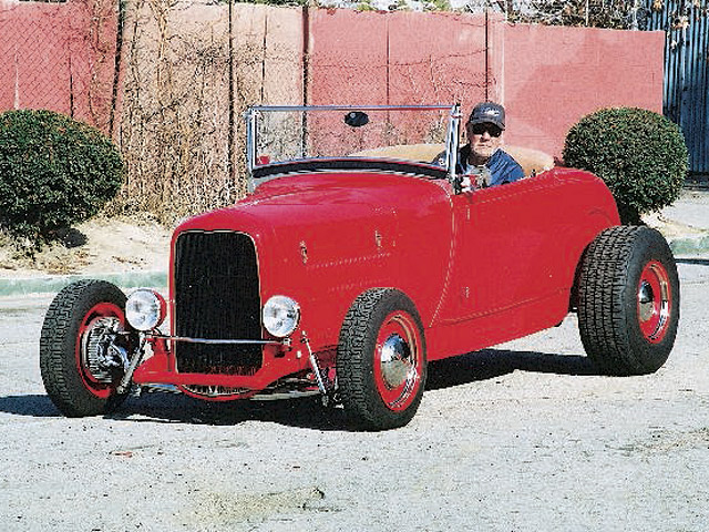 Al Kuhn of San Gabriel, CA, currently owns the car with a whopping 73,000 miles on the odometer.