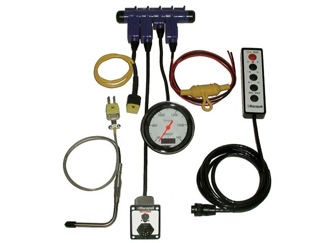 This is a complete system to gather, monitor, and play back one channel of data. The keypad can play back the monitored data on the gauge in real time, but it's not necessary if you have a laptop to download the data for evaluation using the V50.