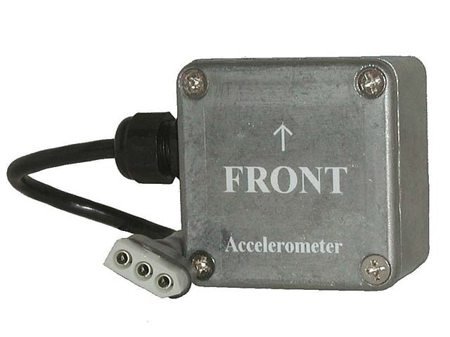The g-meter can be used with the V50, but you are better off using the next model data recorder and software to evaluate the data. The V300 has two built-in g-meters that record acceleration and lateral movement for tire shake. The software at this level can be used to lay two graphs on top of one another for accurate analysis.