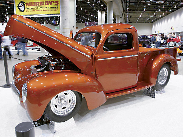 The fact they're stubby doesn't mean you can't do something nice with them. At the Detroit Autorama in 2004, I photographed this original steel '41 Willys pickup as it was a finalist for the show's top honor: the Don Ridler Memorial Award.