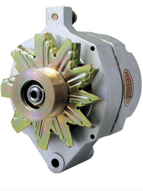 One-wire alternators are certainly the easiest to connect. All you do isdial in a large alternator wire between the output post on thealternator and the positive battery terminal, employing an externaljunction block next to the battery for a cleaner installation.