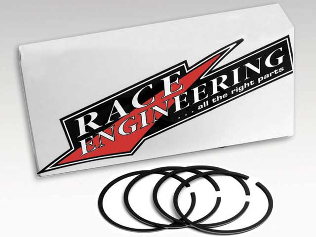 In order to cut frictional power losses, Race Engineering offers metricring packages originally designed for racing import cars.