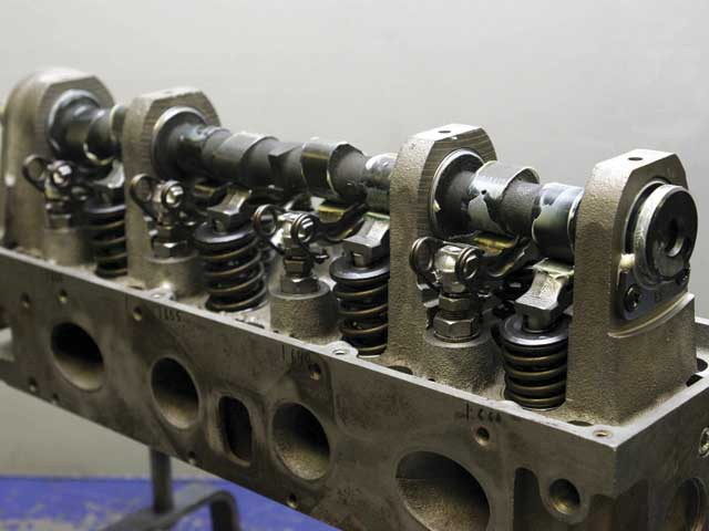 Ford's 2.3L overhead-cam cylinder head is a proven design and quitedurable when built correctly. It is, however, a completely differentanimal for anyone used to working with cam-in-block engines and cylinderheads.