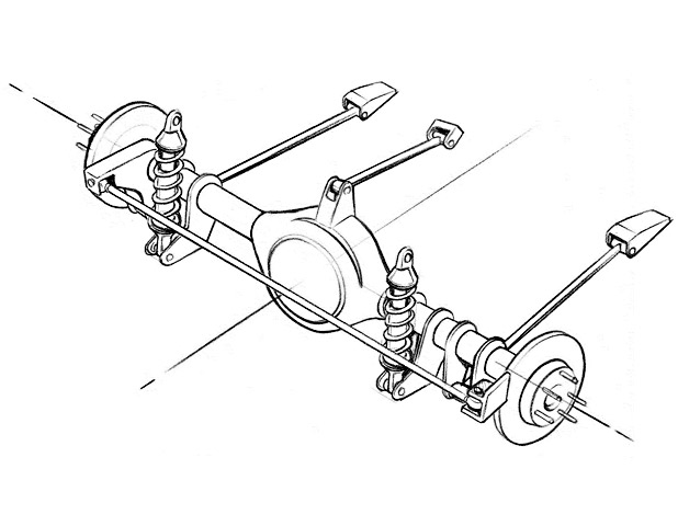 rear suspension guide - tech  terminology