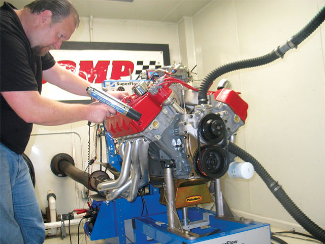 Speed-O-Motive's entry was competitive right out of the box with only minor ignition timing changes required to optimize the combination. This was a healthy engine with broad torque and power curves.