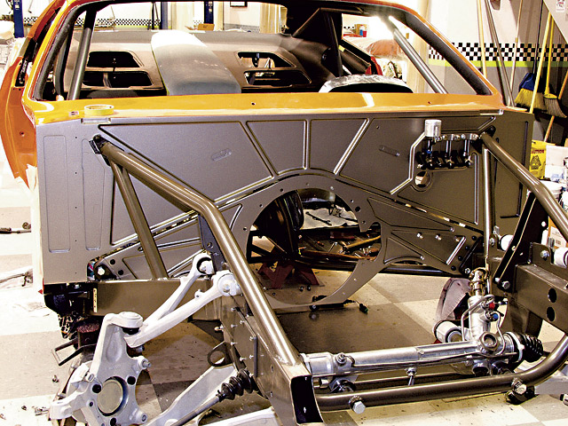 Building The G Force 1971 Plymouth Barracuda Popular
