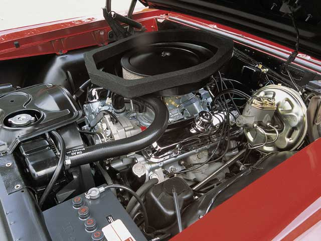 In all its glory is one 360-horse Ram Air engine. Due to a July 31, 1967, build date, the GTO's owner, Joe Portagallo, has raised the possibility that this is the last '67 Ram Air GTO built, but it has not been confirmed.