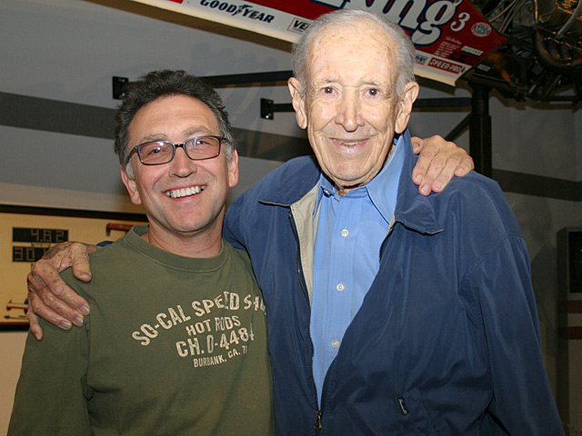 Wally and recently appointed museum Executive Director Tony Thacker.