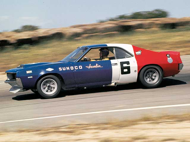 Mark Donohue had no problem overwhelming the '71 Trans Am season in his factory-backed AMC Javelin. But this would prove the swan song of factory participation and the end of an era.