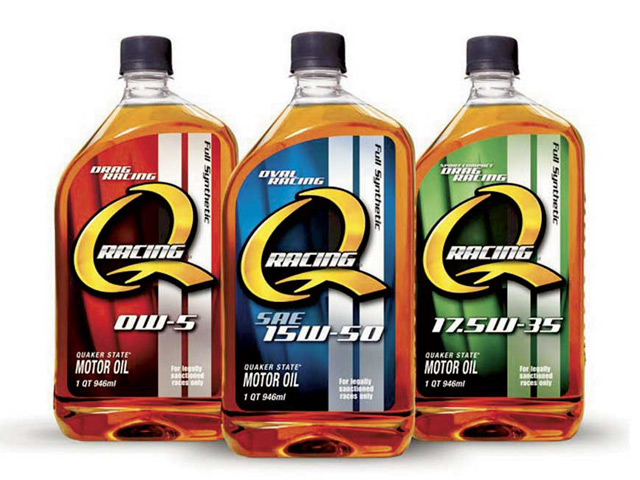 Among Quaker State's new line of high-performance synthetic motor oils is a blend designed expressly for oval-track racing. Quaker State's Bastien says many of the properties in this lubricant blend are derived from what the company learned while working with Hendrick Motorsports.