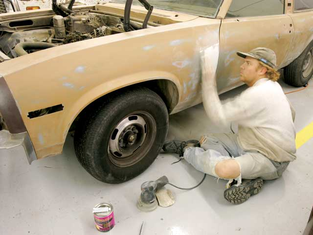 Diy Car Paint : Cheap auto painting and car tips hot rod network
