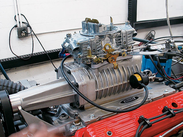 Z Supercharged Ci Chevy Shortblock With Blower