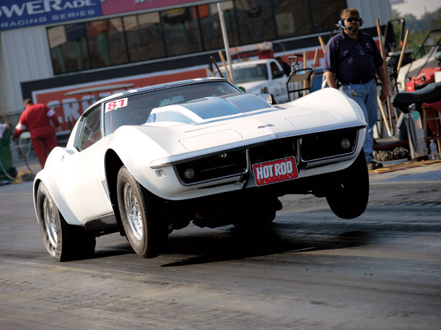 Steve had one day to test in Kansas City before the Drag Week(tm) competition began, but the Vette was already deadly consistent.