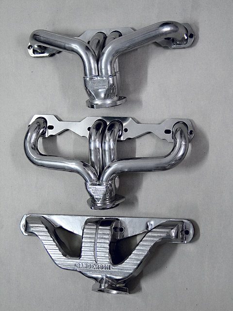 Here are three sets of headers, all designed to fit the GM ZZ4 small-block.  The ZZ4 engine features D-port heads and angled spark plugs. While all three designs fit the engine, hood clearance, steering clearance, and exhaust design may all have input into your header selection.
