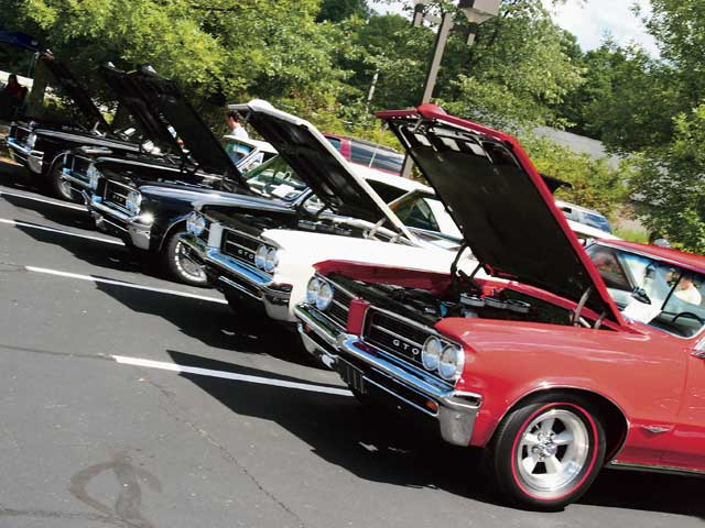Inaugural-year GTOs were a mainstay of the meet as always.
