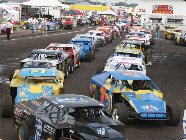 Affordability equals big car counts in the IMCA. There's no lack of quality competition among the many Modifieds.
