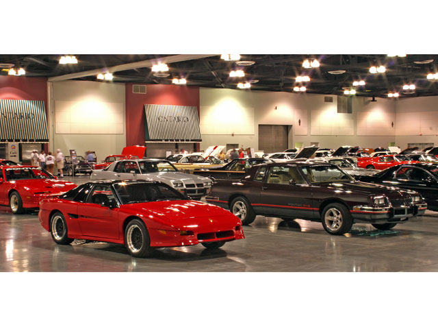 Also part of the Pontiac collection was the '90 Fiero prototype and a very special, maroon, 2+2, notchback concept car.