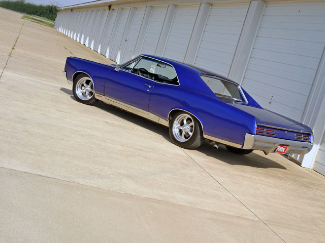 The classic stance of the mid-'60s GM A-body is what many hobbyists like Doug Tornello find attractive.