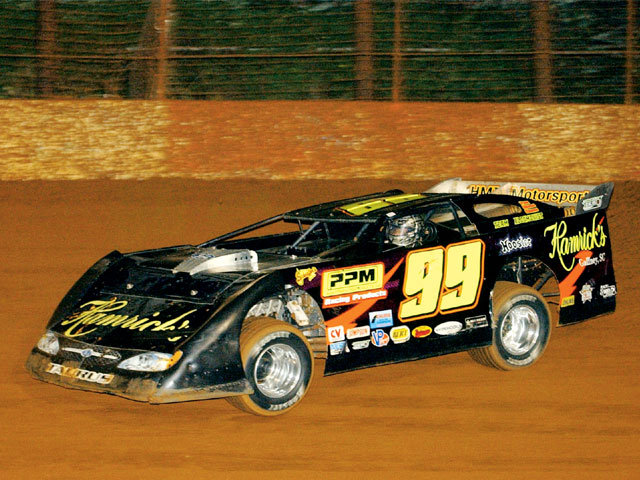 Jeff Cooke competes at Crossville Raceway USA.
