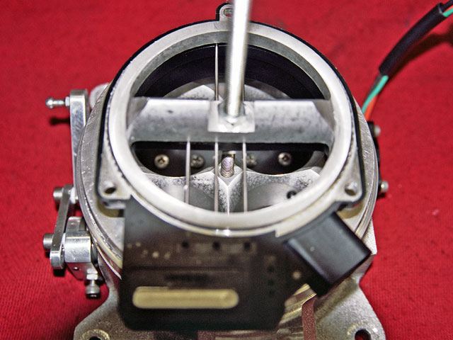 Chris Richards from Mass-Flo came up with the great idea of mounting the MAF sensor to the throttle body. GM actually employed this concept in 1988 when the 3800 Series II Buick 3.8 V-6 was introduced.