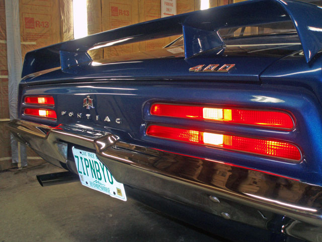Check the operation of all lamps and change bulbs as necessary.  Don't forget the underhood, trunk, and glovebox lamps.