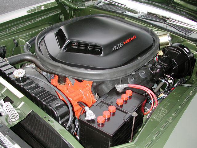 Daniel's Hemi was an all-original plant that was sent to Vic Fera at Brevard Cylinder Heads. Once the block was prepared, it was filled with nearly 100-percent Mopar Performance parts thanks to Mancini Racing's large cache of Hemi parts.
