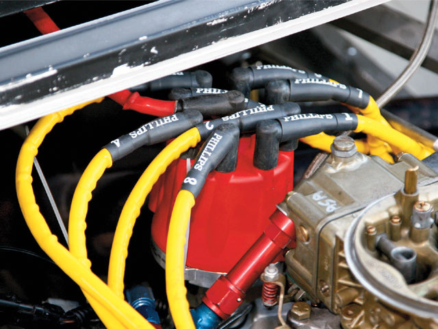 Don't overlook your distributor and plug wires, as well as the rest of the ignition system. Photo by Bob Bolles