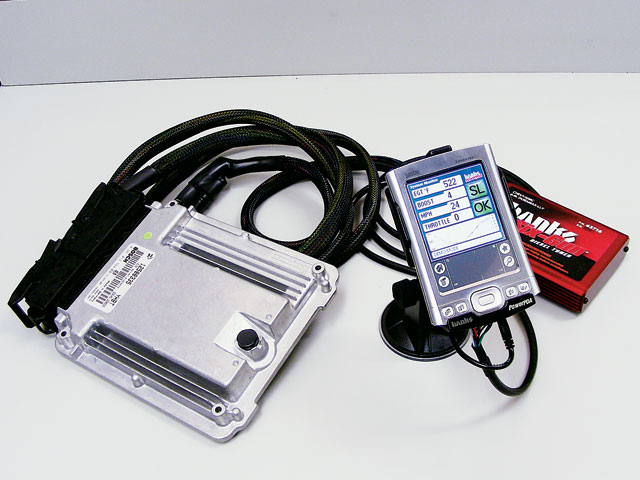 Banks worked closely with Bosch on the Type-R's engine electronics, and similar technology appears on the Banks Power PDA that controls its diesel-tuner package.