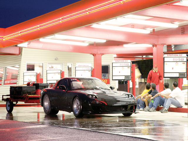 Drag Week(TM) is pure backroads Americana. You could even get yelled atby a drive-through waitress if you try real hard.