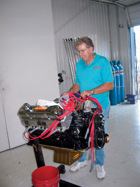 Learning from his entry in last year's challenge, David Bruns tuned his economical engine to more than 740 hp, winning the '06 Mopar Muscle Engine Challenge.