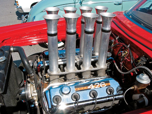 This Hemi-powered Mopar was spotted amongst the ranks of rods present at the recent Cruisin' Ocean City event back in Maryland and the crowd was drooling over the evil looks of its Hilborn injection.