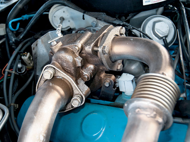 Both Pontiacs and Buicks employed turbos manufactured by AIResearch Corp. for General Motors. The TB03 Turbo on the 301 had a larger housing than the Buick but did share the same impeller-area radius.