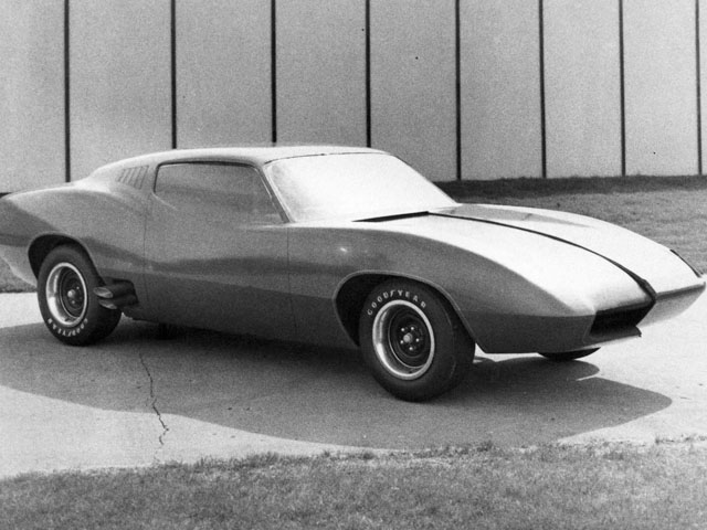 Plymouth barracuda concept