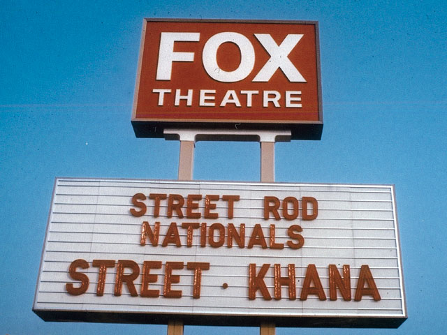 Streetkhana was Greek to the uninformed passing by. And unless some of the street rodders had a Sprite or Jag at home, so was gymkhana. Tom's play-on-words was a hit with all who participated.