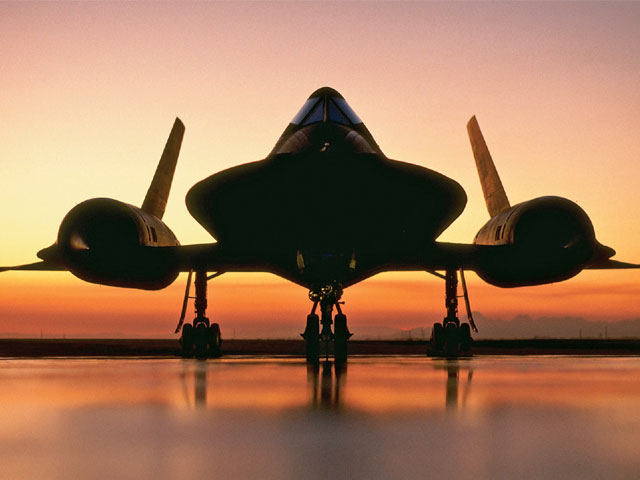 The United States Air Force SR-71 Blackbird that started it all for the GTA.