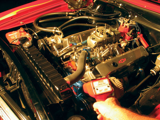 The reason for tuning with different total ignition timing numbers is to determine what timing the engine wants to make best power. While 36 degrees is a popular number with most current performance engines, each engine is different and may need more or less timing to make best overall power.