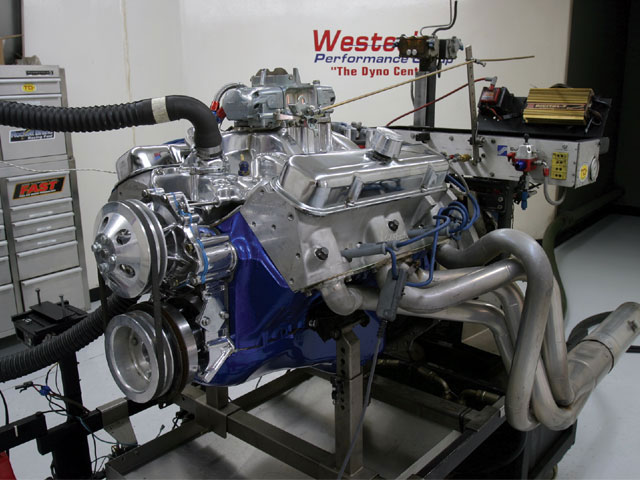While making 500 hp is achievable with a small displacement, the smart street engine plan is to build it with as much displacement as possible. This is a Ken Crocie Pontiac 455 that made 516 hp at 5,300 rpm and 575 lb-ft of torque at 3,900. That's great grunt.