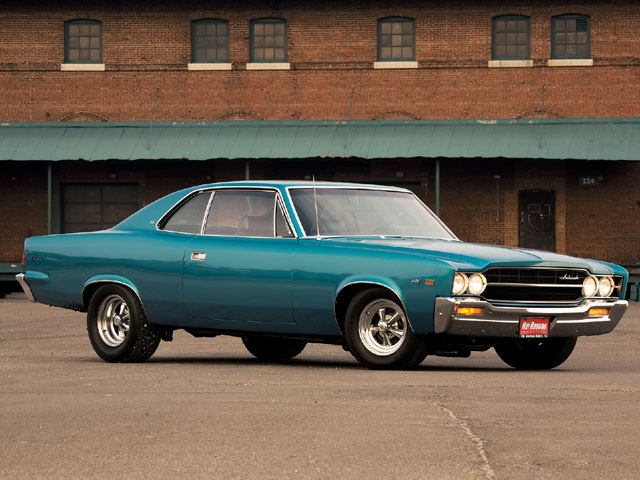How can you not love a shape like that? The '69 Ambassador can hold its own parked next to any Chevelle or Mopar B-Body.