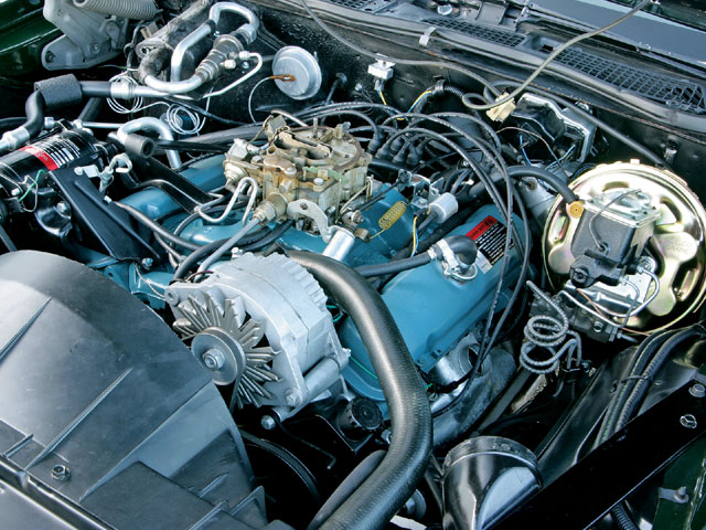 Hppp Z Pontiac Trans Am Super Duty Engine Bay