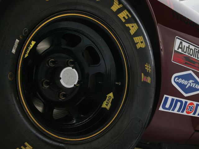 Aero wheels aren't just for looks--they're legitimate NASCAR wheels.