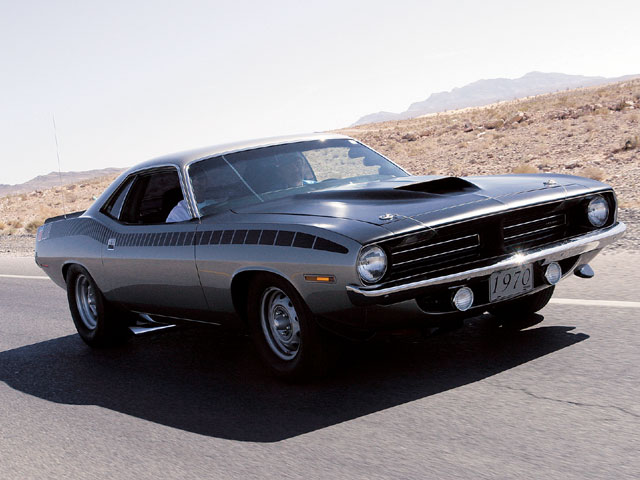 Placing a close second in this year's challenge is Terry Antosko's '70 Plymouth AAR 'Cuda clone. Don't let the factory look fool you, this car is fast!