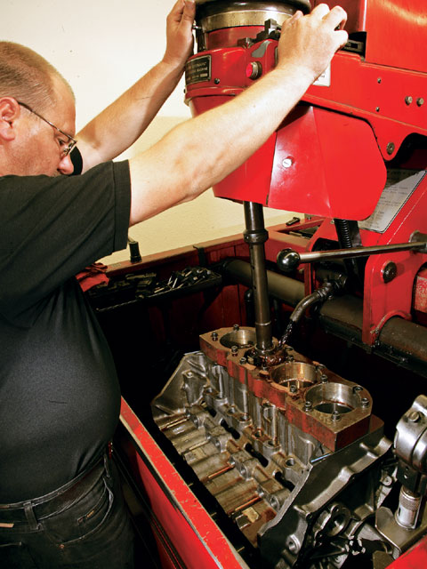 Other than finishing the bores to suit the pistons, the Dart block comes fully machined in all other respects to race-engine limits.