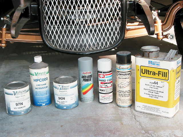 A bit of digging around in my body supply cabinet netted what was left of my dwindling supply of basecoats.