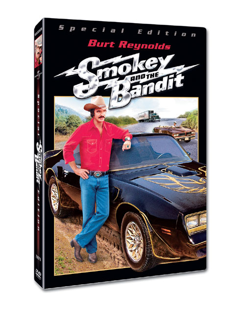 This Special Edition Smokey and the Bandit DVD was released by Universal Studios Home Entertainment in 2006 and contains never-before-seen special features, including interviews with Hal, Burt, and Paul Williams.