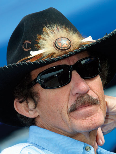 For all his accomplishments, Richard Petty has made his share of mistakes. Courtesy of NASCAR